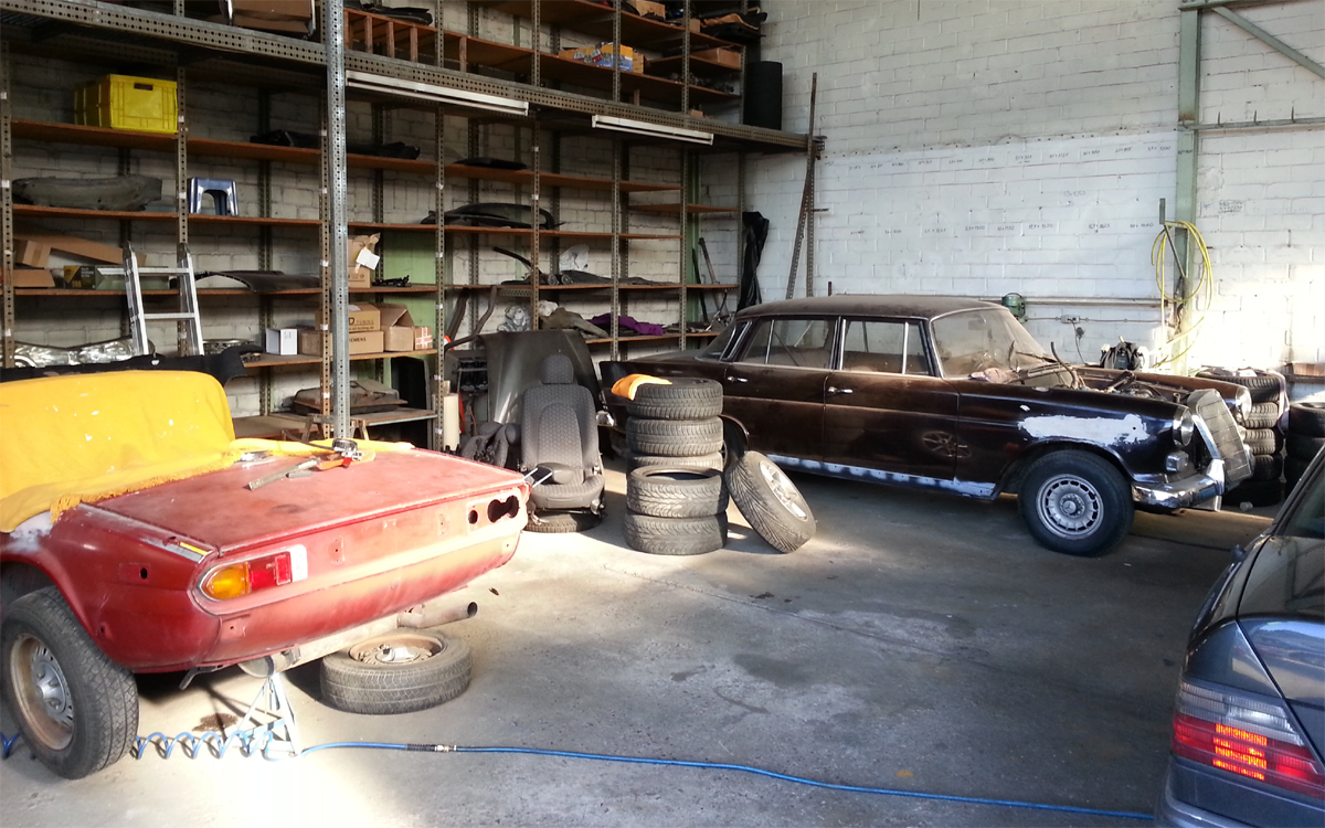 Oldtimer bei VE Automobile