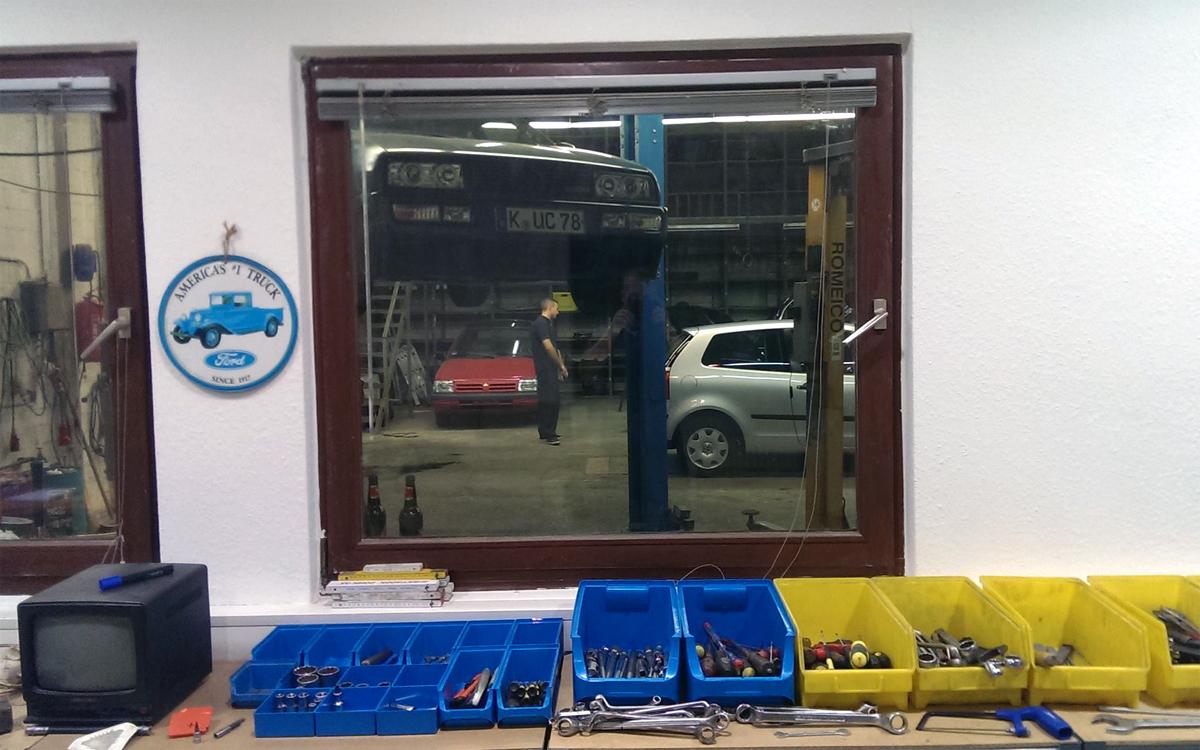 Blick in die Werkstatt von VE Automobile